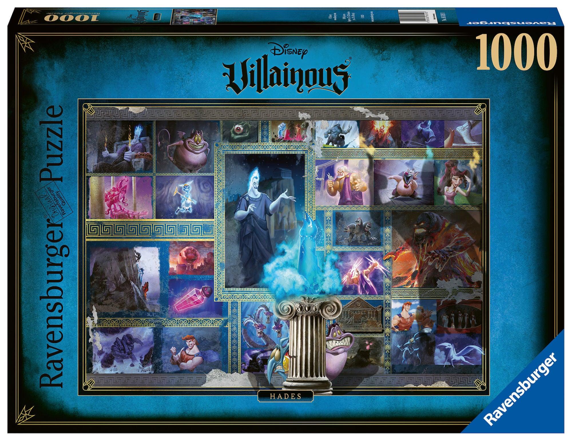 Ravensburger Pussel Disney Villainous: Hades 1000 Bitar