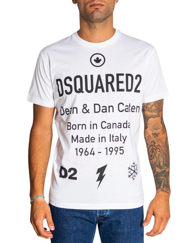 Dsquared2 - Dsquared2 Men T-Shirt - white XS