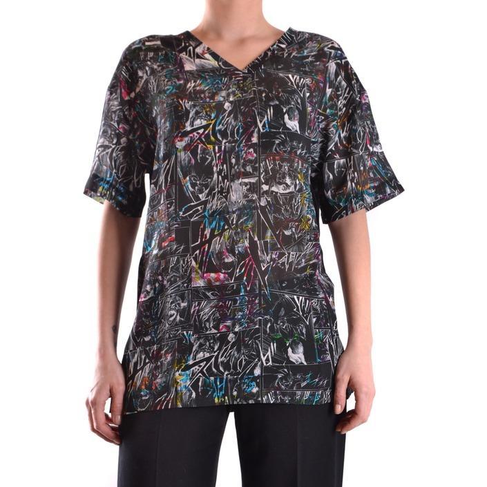 Alexander Mcqueen Women's T-Shirt Multicolor 161823 - multicolor M