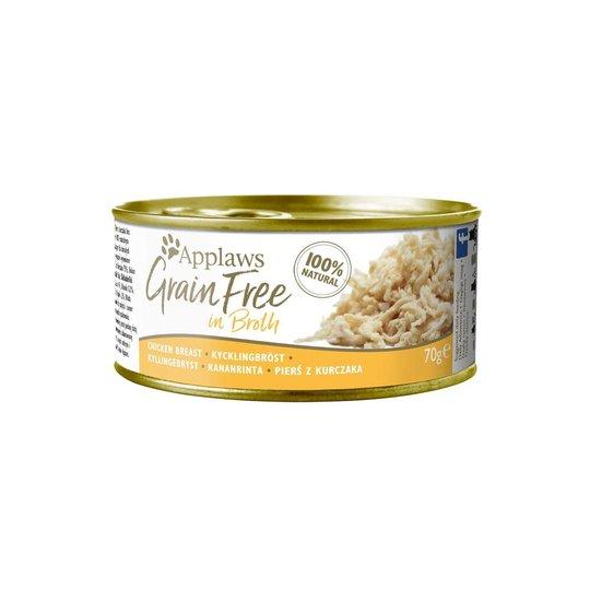 Applaws Cat Grain Free Chicken Breast in Chicken Broth 70 g