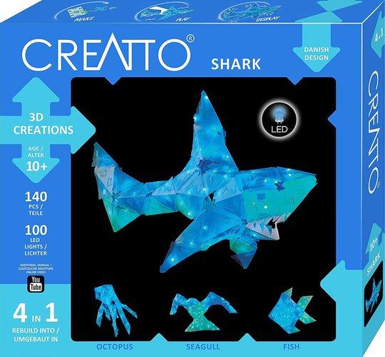Creatto Sparkle Shimmer Shark Brettspill