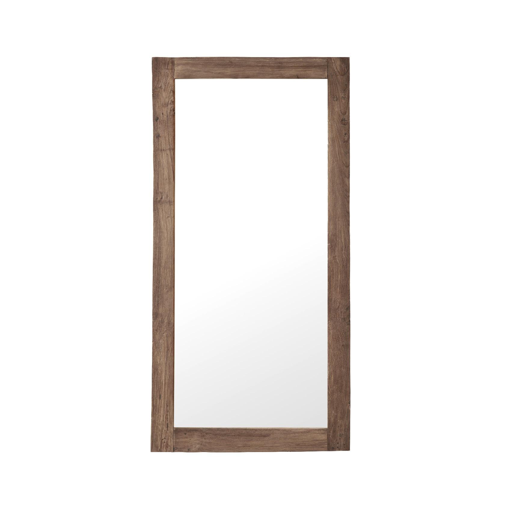 Stor spegel teak Lucas, Sika-Design