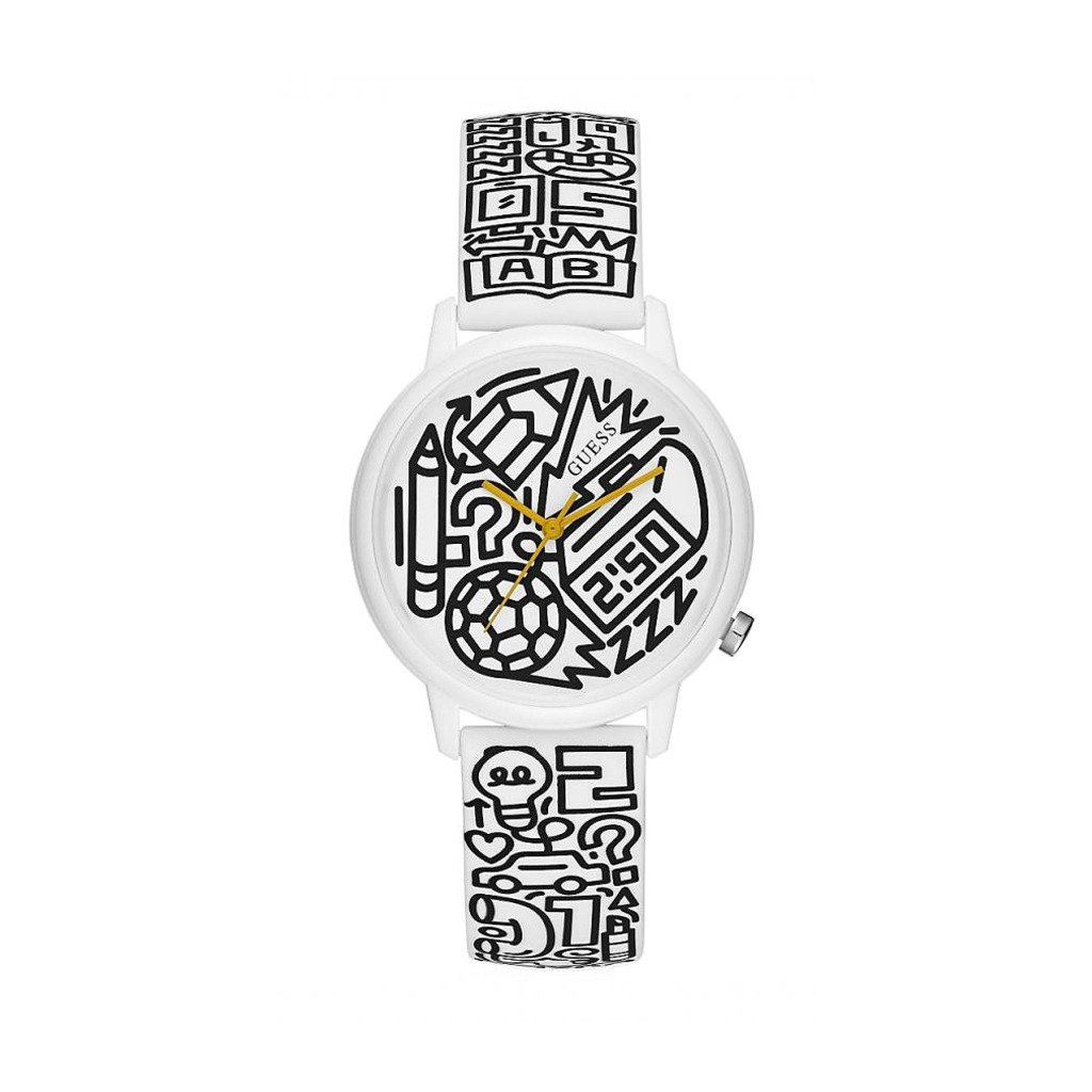 Guess Unisex TIME-TO-GIVE Watch Black 323138 - black NOSIZE