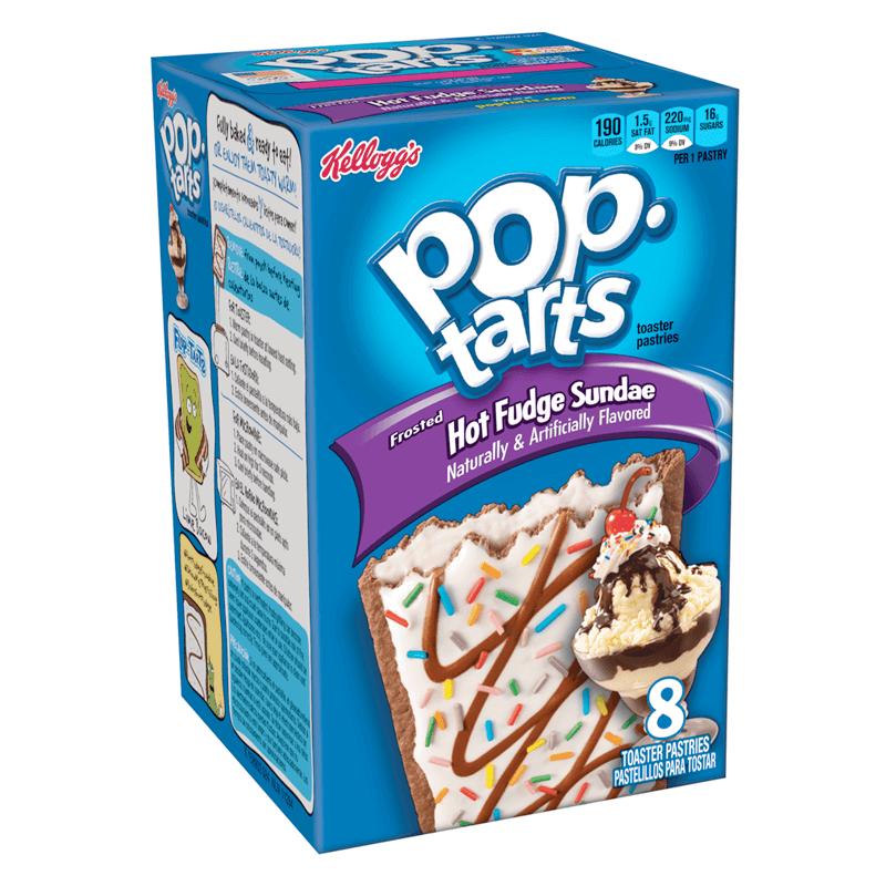 Kelloggs Pop-Tarts Hot Fudge Sundae