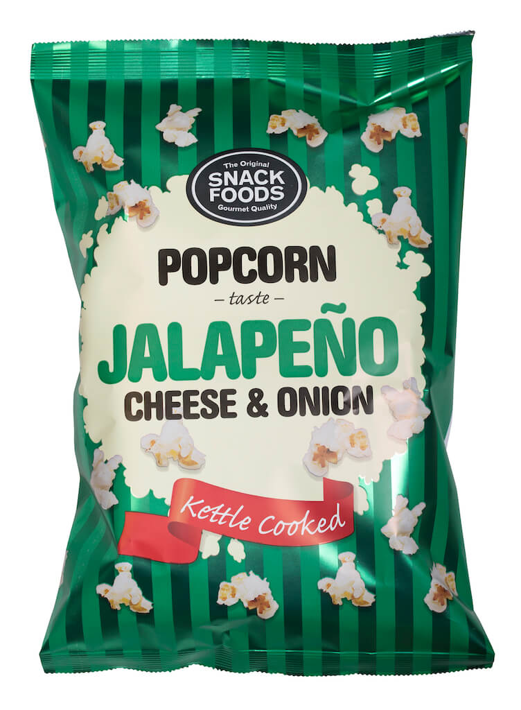 Snacks Food Jalapeno Cheese & Onion Popcorn 65g