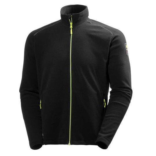 Helly Hansen Workwear Aker Fleecetakki musta/lime Koko S