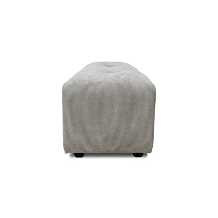 Vint couch Soffmodul hocker Small Corduroy rib Cream