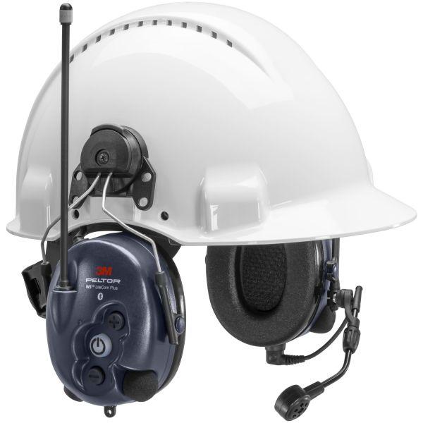 3M Peltor WS LiteCom Plus Hørselvern hjelmfeste, Bluetooth, komradio 16 kanaler