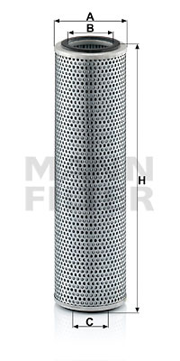 Suodatin, työhydrauliikka MANN-FILTER H 1070