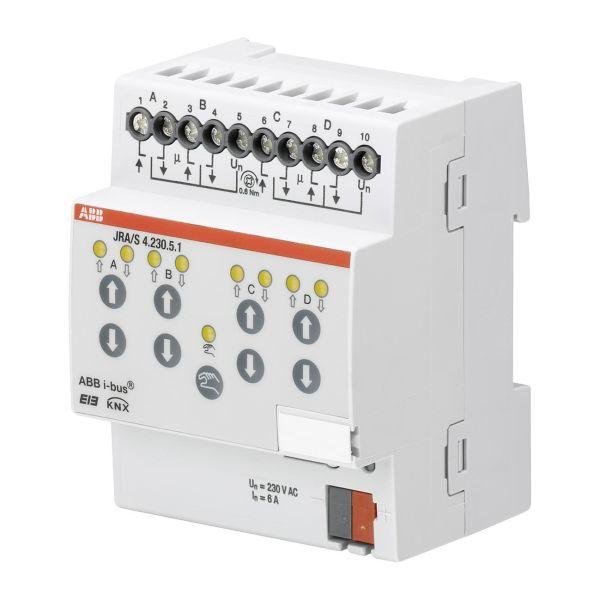 ABB 2CDG110125R0011 Verhomoottoriohjain 230 V, ajan tunnistus Verholähtöjen enimmäismäärä: 4
