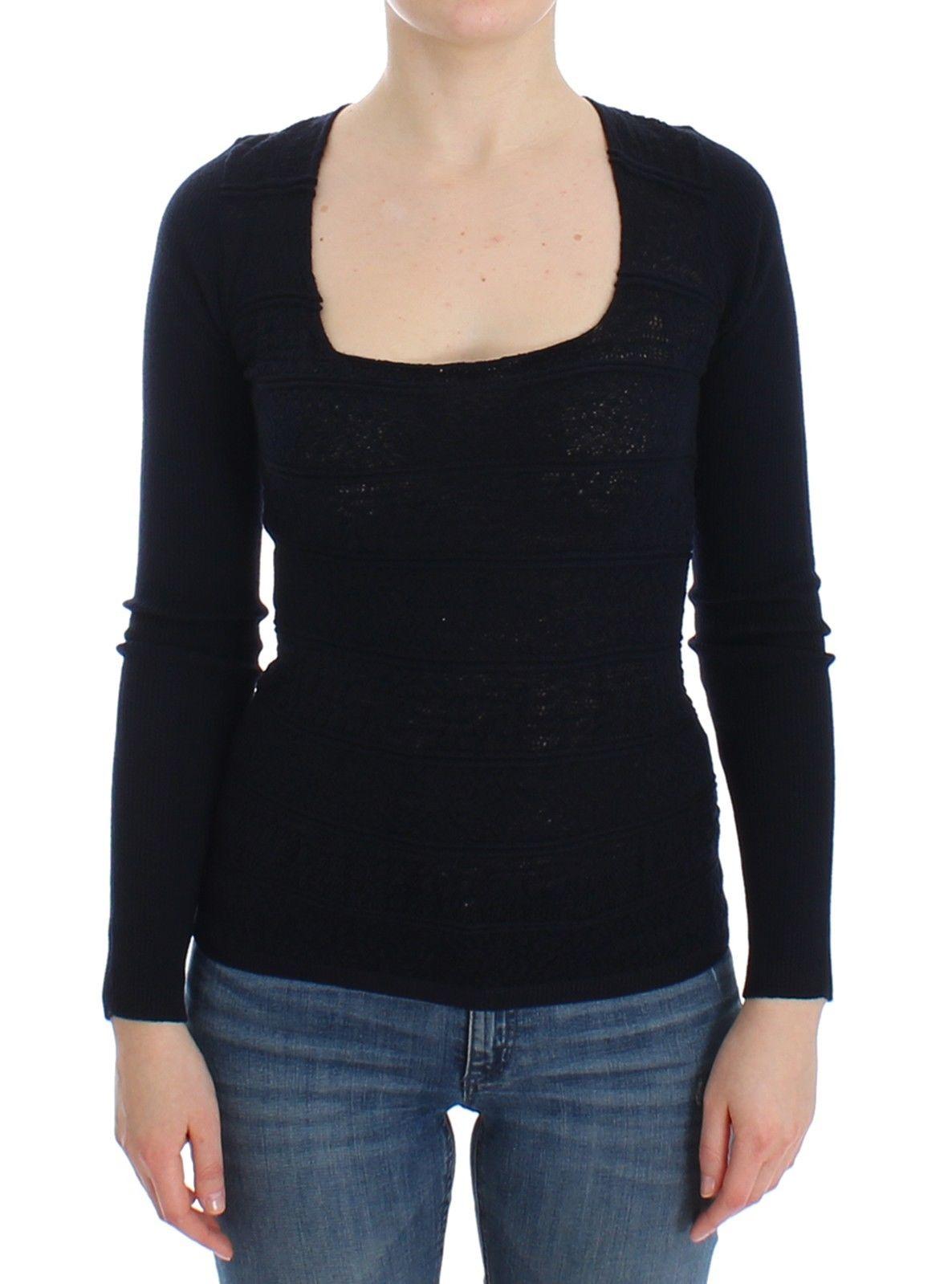 Ermanno Scervino Women's Sweater Blue SIG12582 - IT44 | M