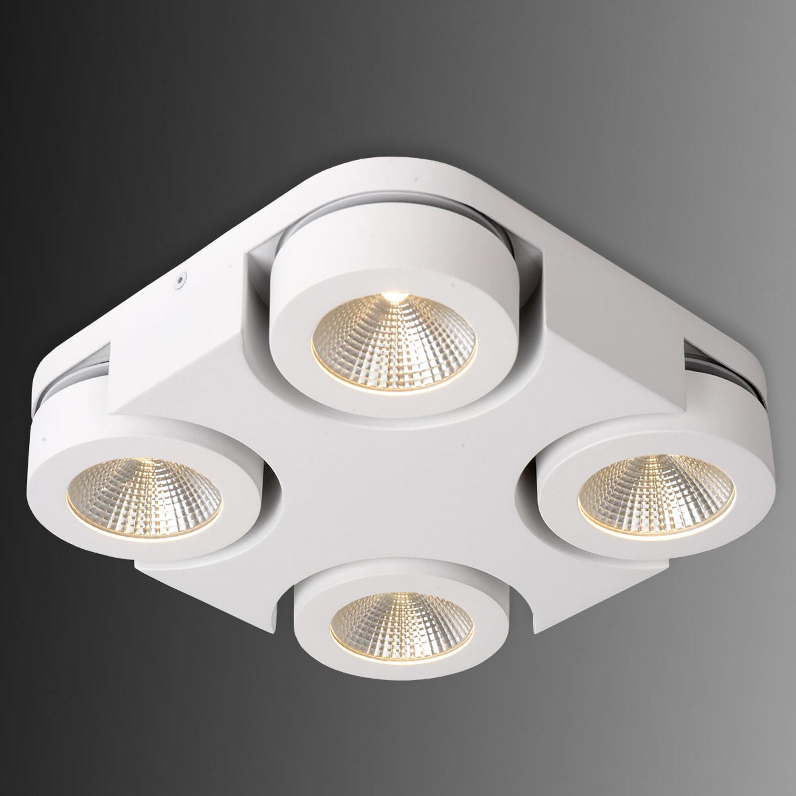 Neliönmuotoinen LED-kattovalaisin Mitrax