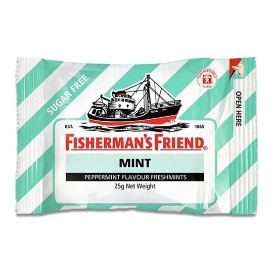 Fishermans Friend Sockerfri Mint