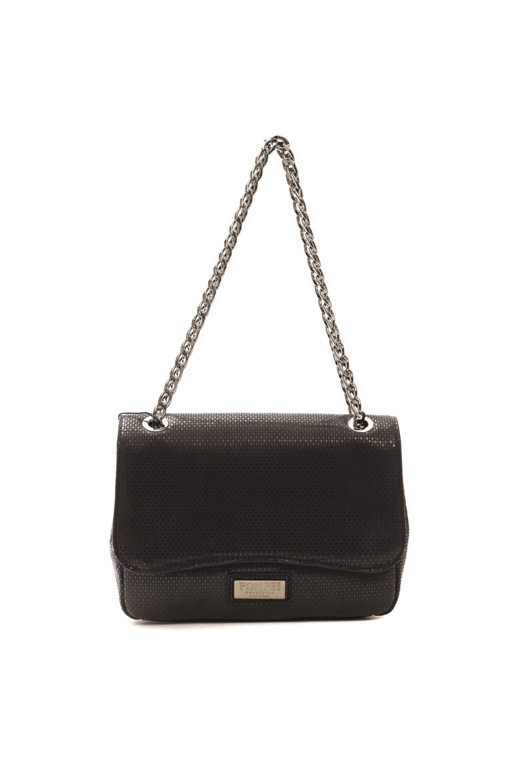 Pompei Donatella Women's Nero Crossbody Bag Black PO1005129