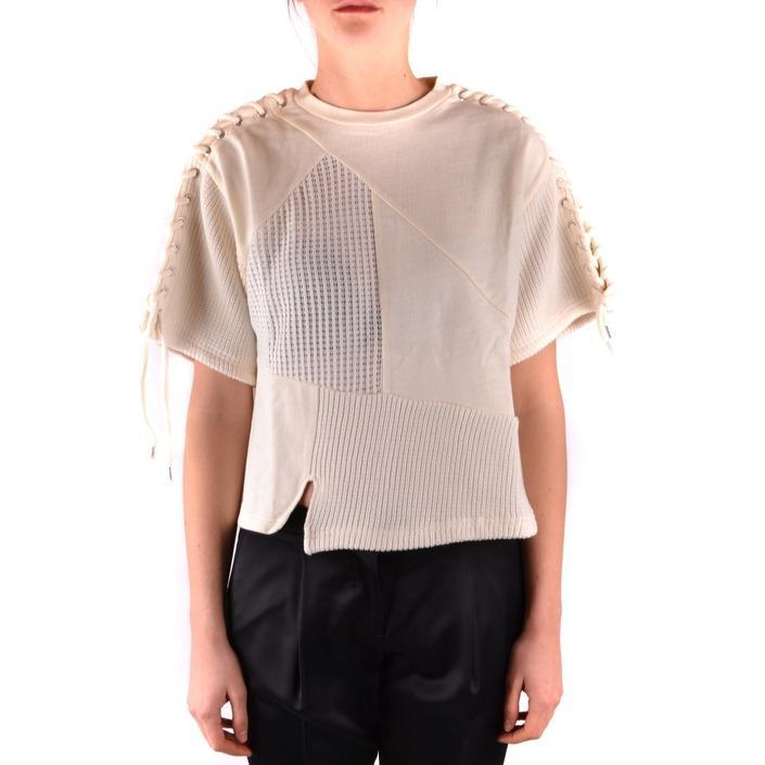 Alexander Mcqueen Women's Sweatshirt White 166068 - white XS