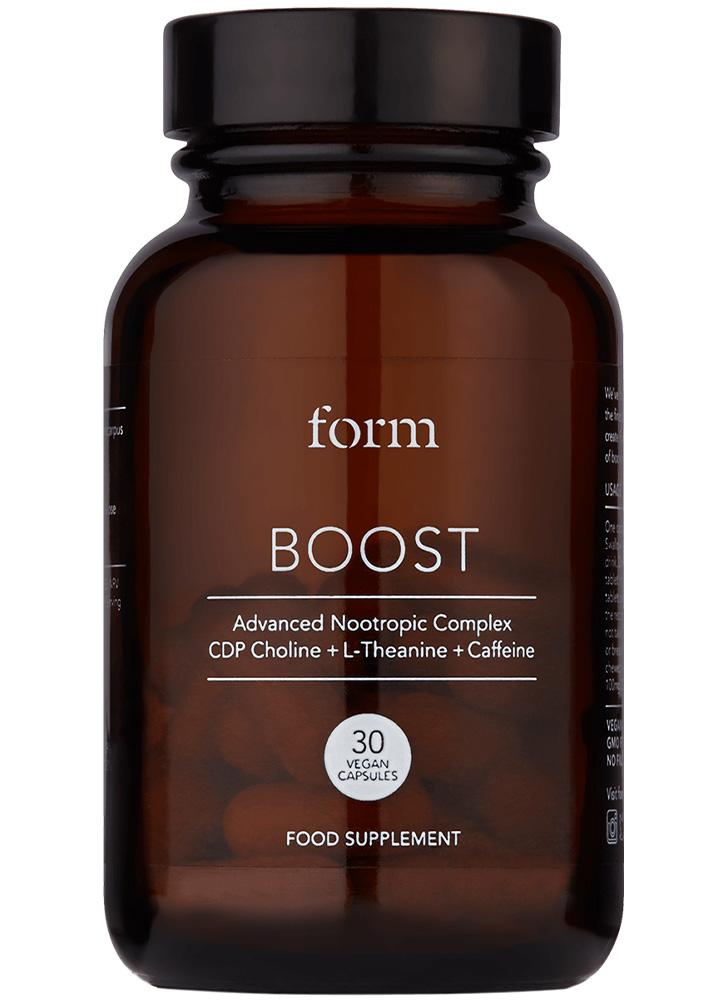 Form Nutrition Boost Nootropic Capsules