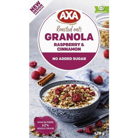 Granola Hallon & Kanel - 12% rabatt