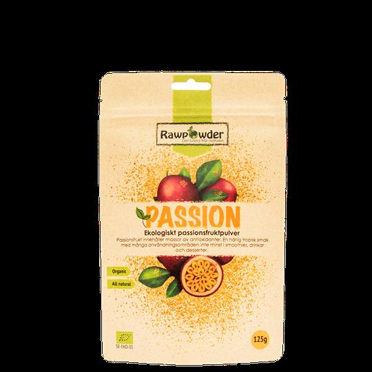 Passion, Ekologiskt Passionsfruktpulver, 125 g