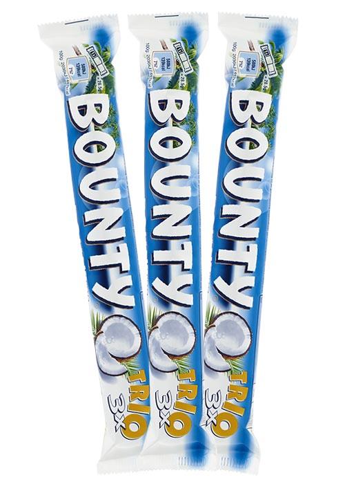 Bounty trio 85g x 3 st