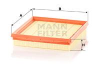 Ilmansuodatin MANN-FILTER C 21 014