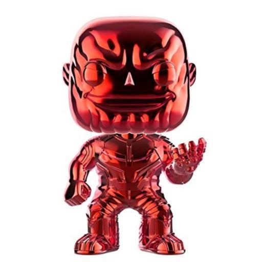 Funko! POP - Chrome Exclusive -Avengers Infinity War - Thanos (Red Chrome) (36220)