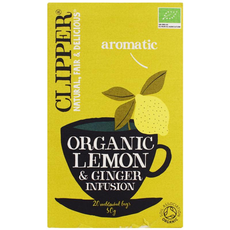 Eko Fruktte Citron & Ingefära 50g - 29% rabatt