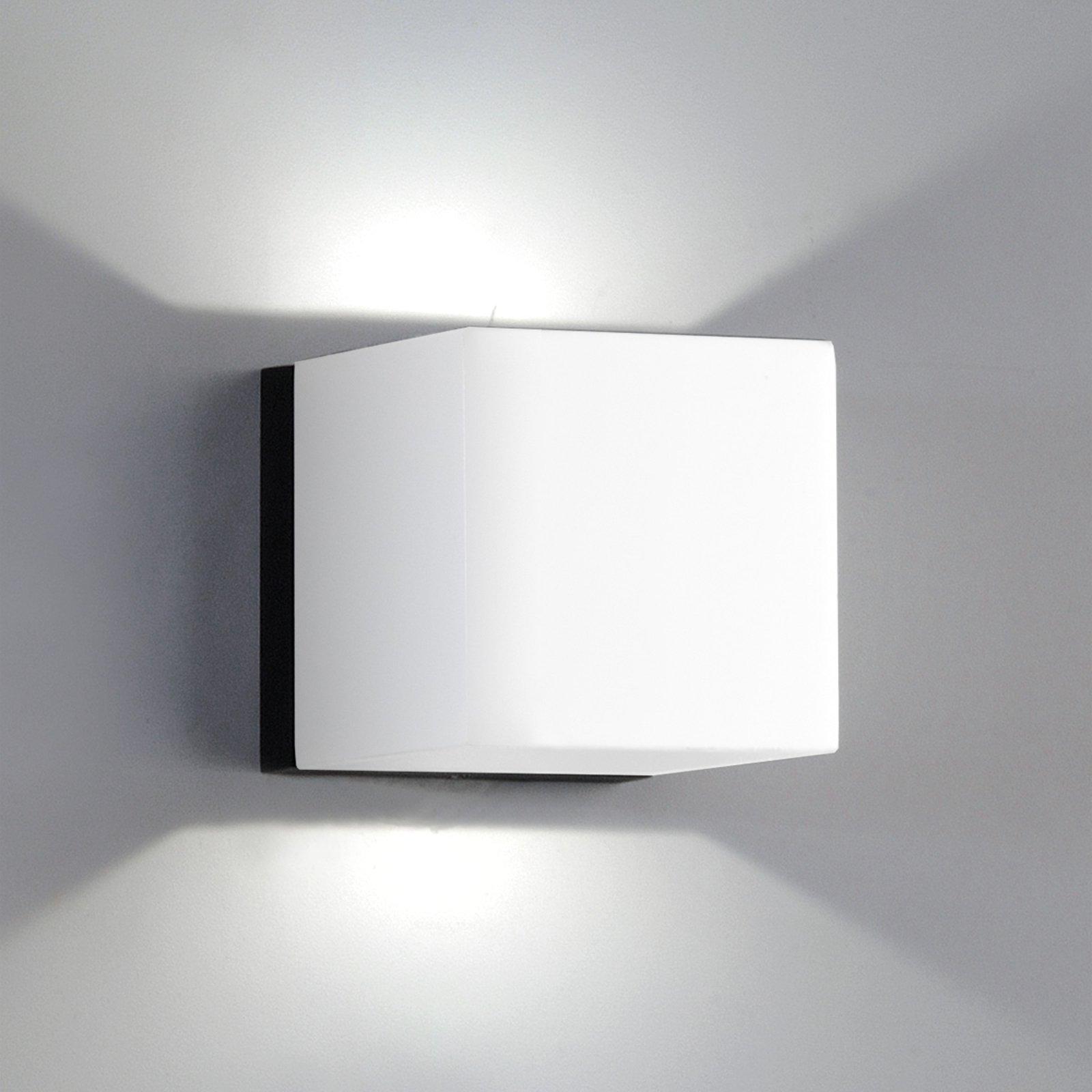 LED-vegglampe Dau Mini 2 lys hvit