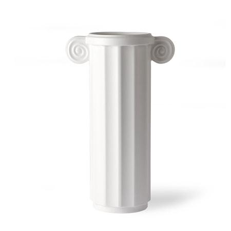 White Ceramic Vas Greek C