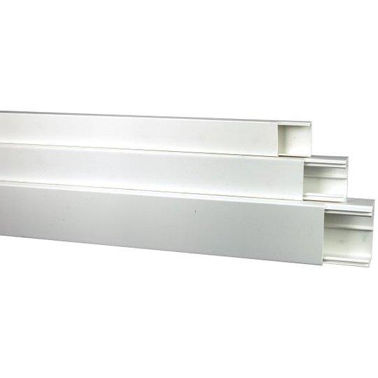 Obo Bettermann 6168736 Kaapelikanava valkoinen, 2 m 20 x 50 mm