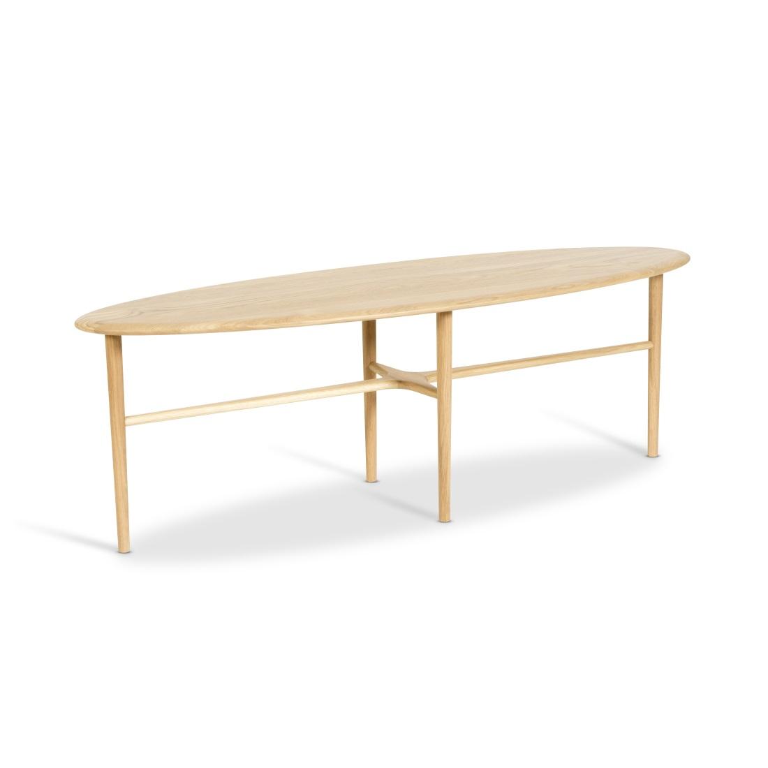 CREST avlångt bord ljus ek Mavis