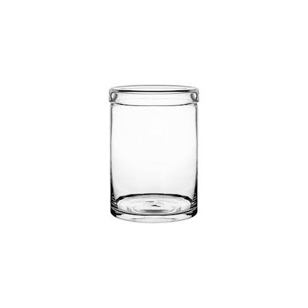 Glasskrukke 21 cm