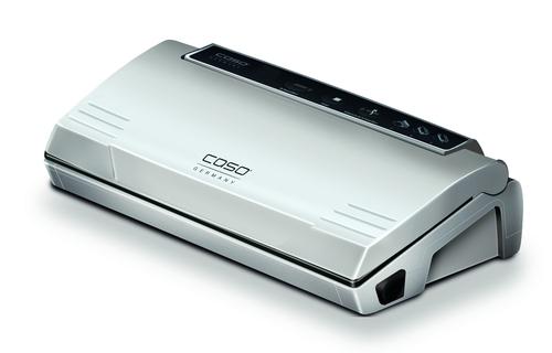 Caso 1380 Vc 100 Silver 120 Watt Vakuumföpackare - Svart/silver
