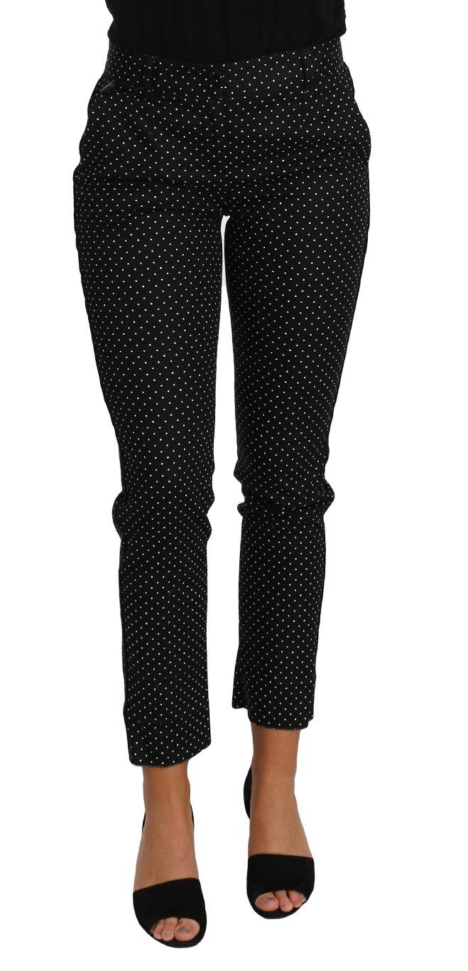 Dolce & Gabbana Women's Trouser Black PAN61092 - IT38 XS