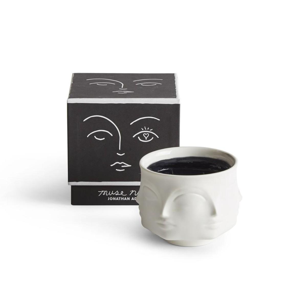 Jonathan Adler I Muse Noir Ceramic Candle
