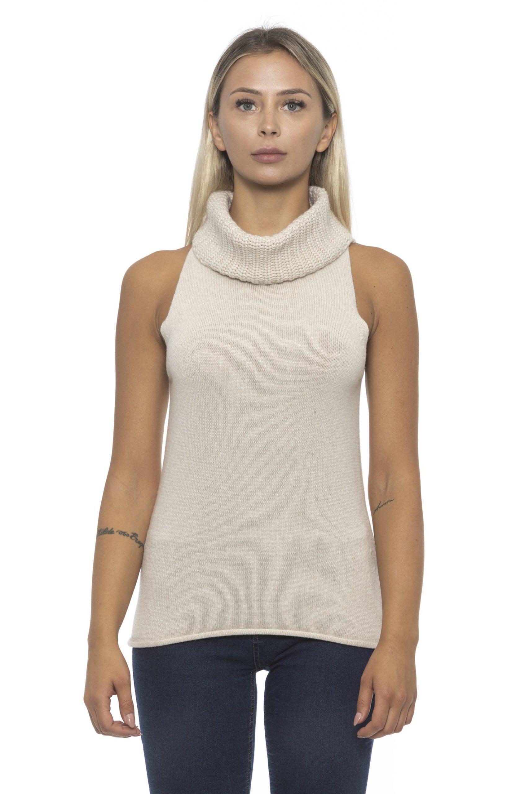 Alpha Studio Women's Riso Sweater Beige AL1192516 - IT42 | S