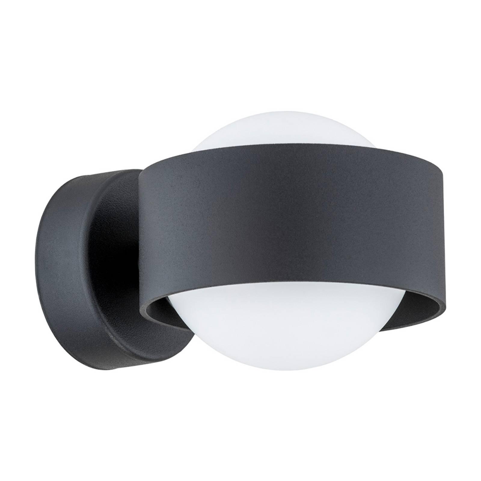 Kylpyhuoneen LED-seinälamppu Macedo, musta