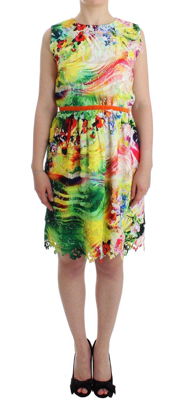 Lanre Da Silva Ajayi Women's Organza Sheath Dress Multicolor SIG12520 - M
