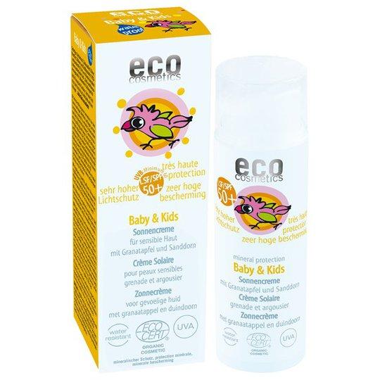 Eco Cosmetics Ekologisk Solkräm för barn SPF 50+, 50 ml