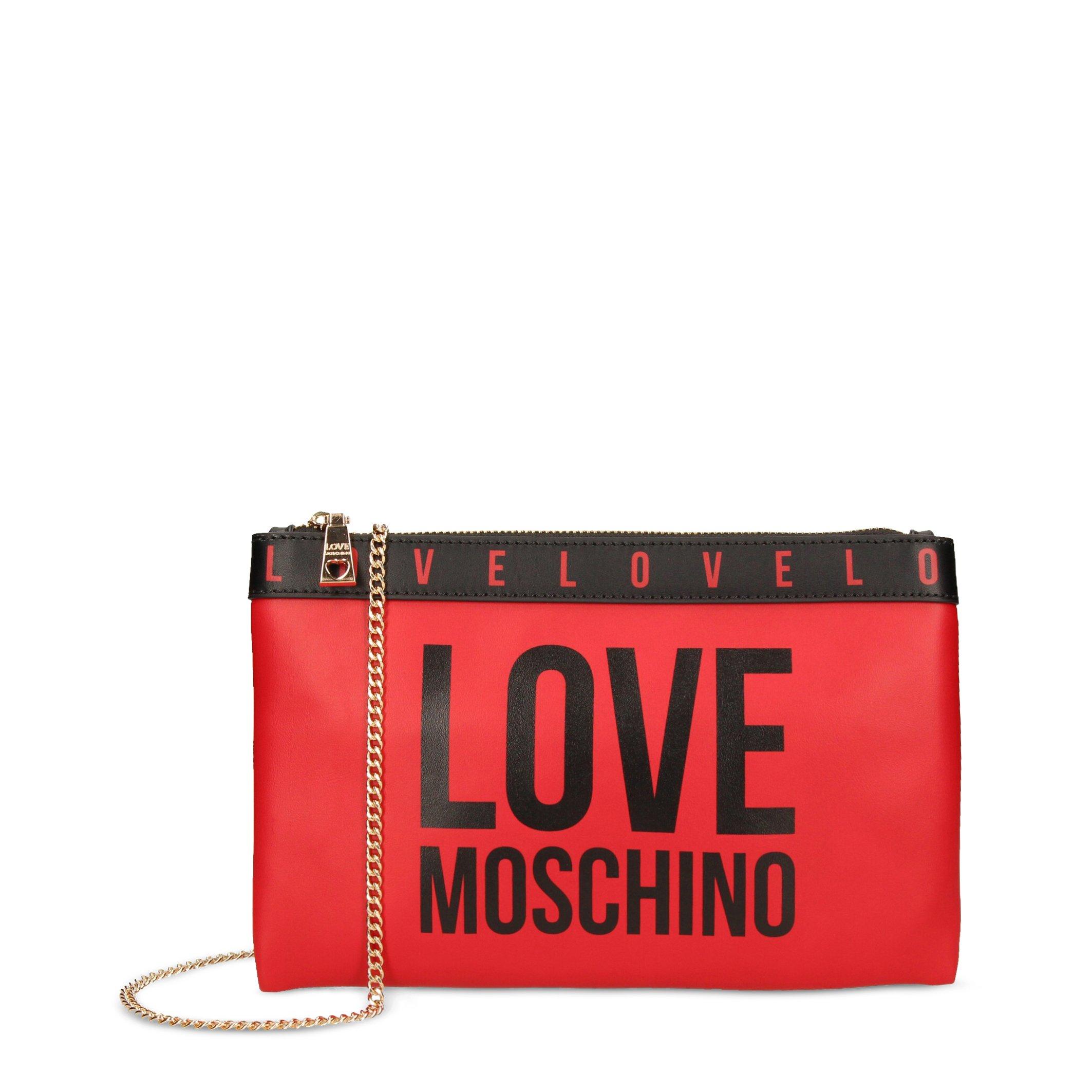 Love Moschino Women's Clutch Bag Various Colours JC4185PP1DLI0 - red NOSIZE