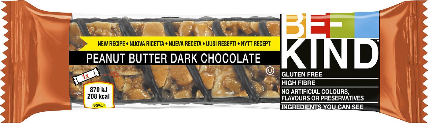 Be-Kind Peanut butter & Dark Choco 40g