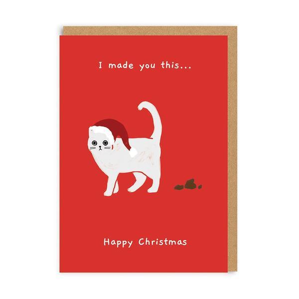 I Made You This Christmas Card