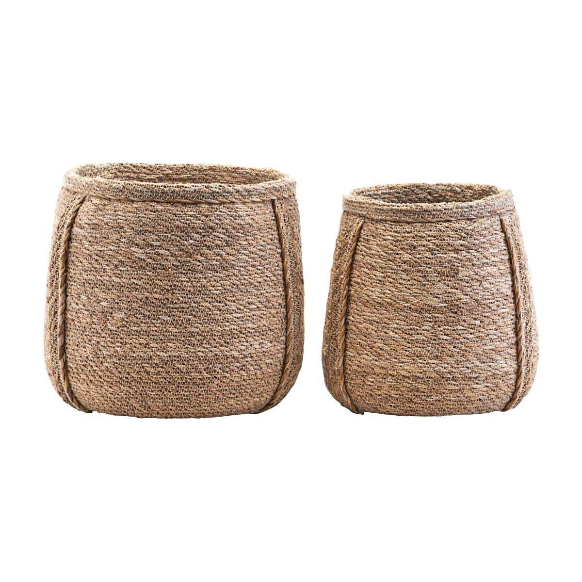 House Doctor - Plant Basket Set of 2 - Natur (GJ0103)