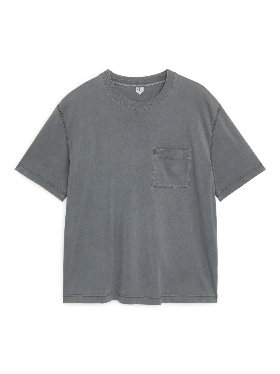 Garment-Dyed T-shirt - Grey
