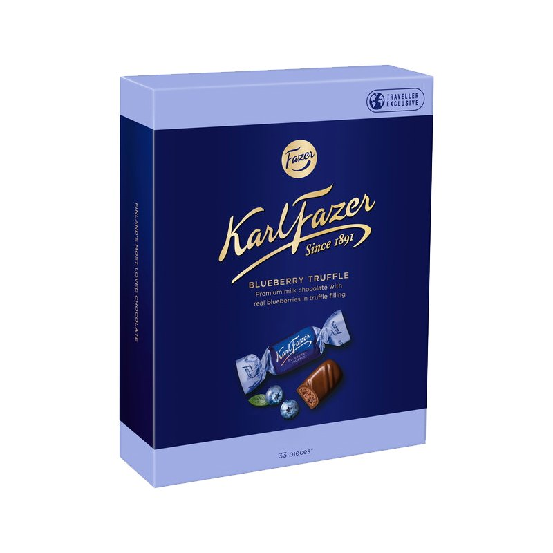 Blueberry Truffle Suklaakonvehdit - 78% alennus