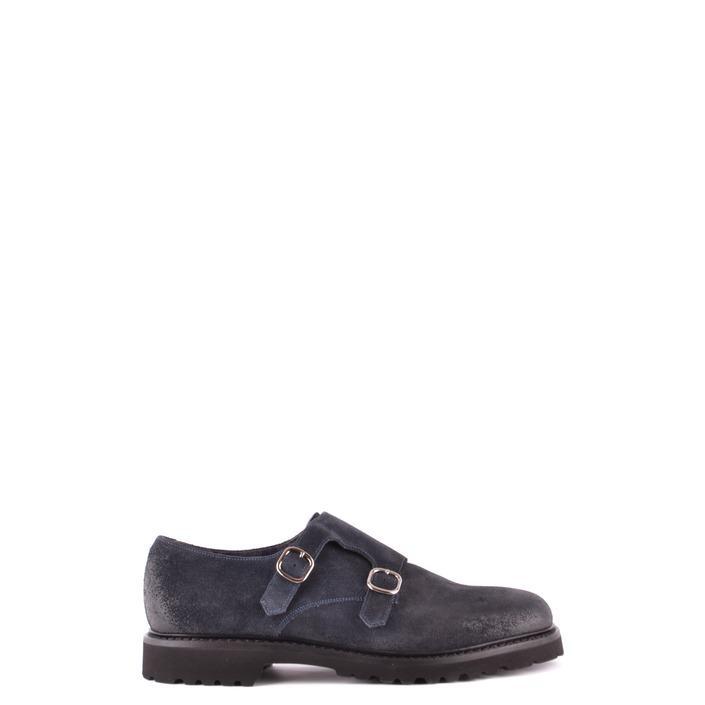 Doucal`s Men's Slip On Shoes Blue 166404 - blue 43