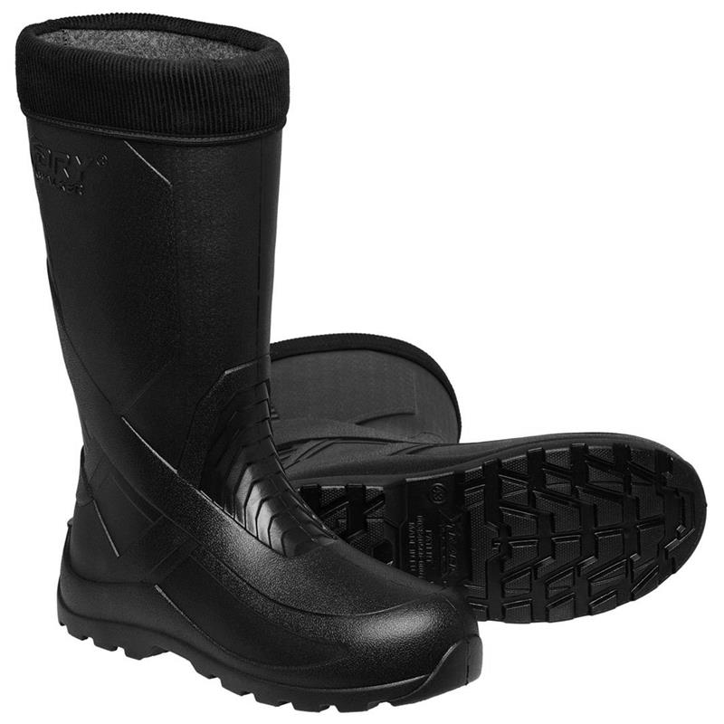 """Kinetic Drywalker Boot 15"""" 46 Varm gummistøvel, Black"""