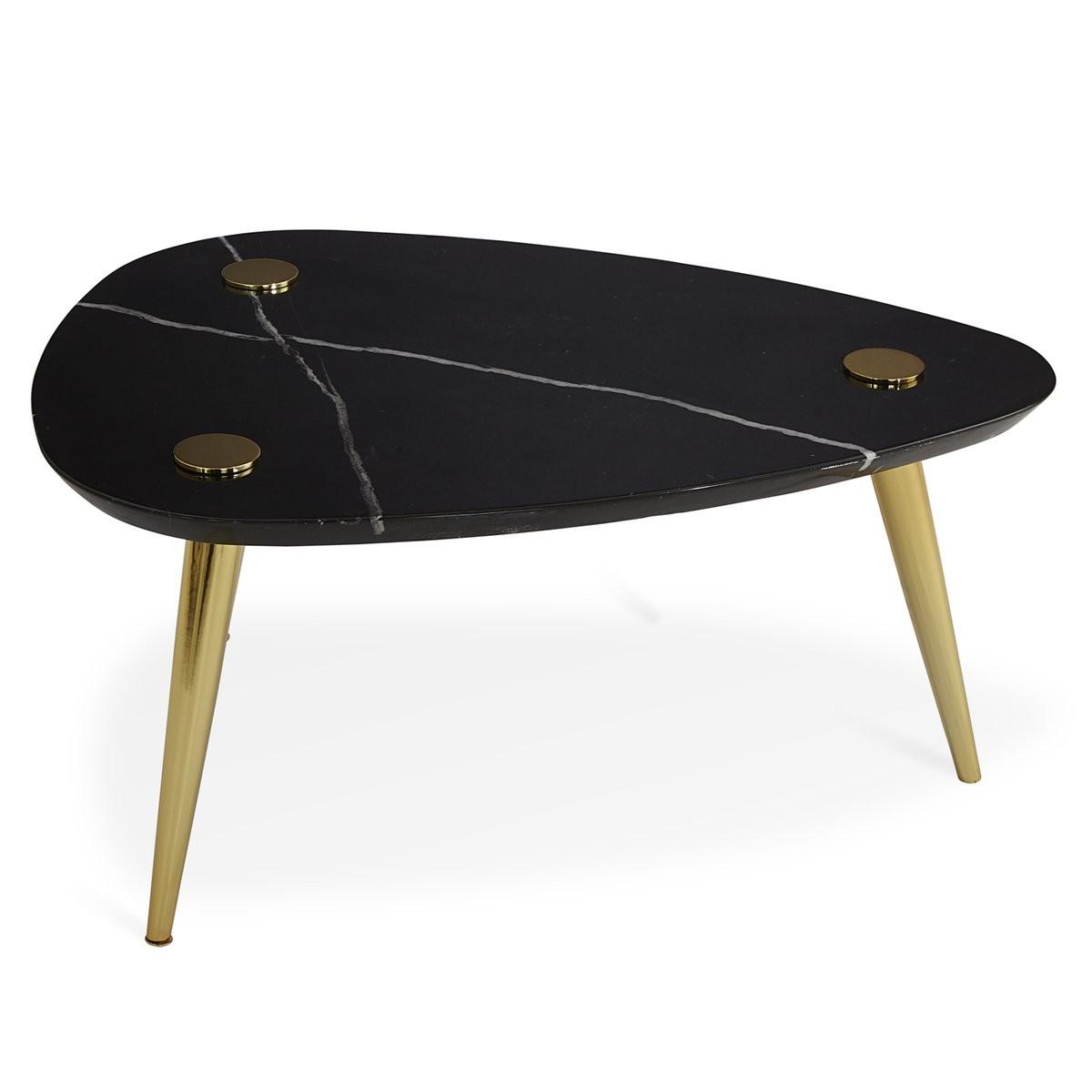 Jonathan Adler I Small Marble Triangle Table