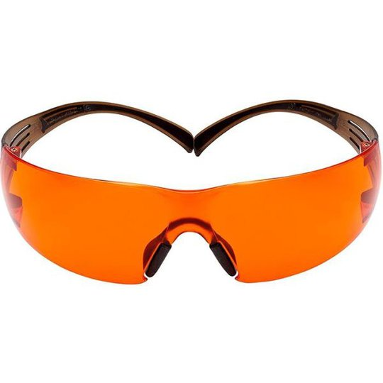 3M SF406SGAF-BLA Suojalasit oranssi