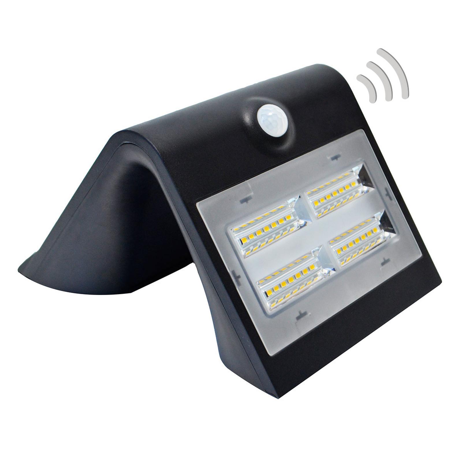 Wave M, aurinkotoiminen LED-valaisin tunnistimella