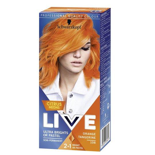 Hårfärg Ultra Brights Orange Tang - 75% rabatt